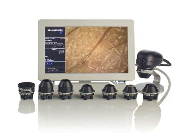 Microcamera pelle e  capelli - farmacia