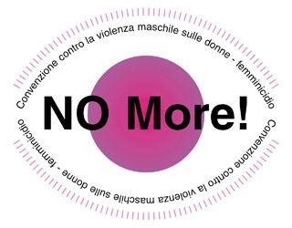 No More! Convenzione contro la violenza maschile sulle donne - femminicidio - Torino