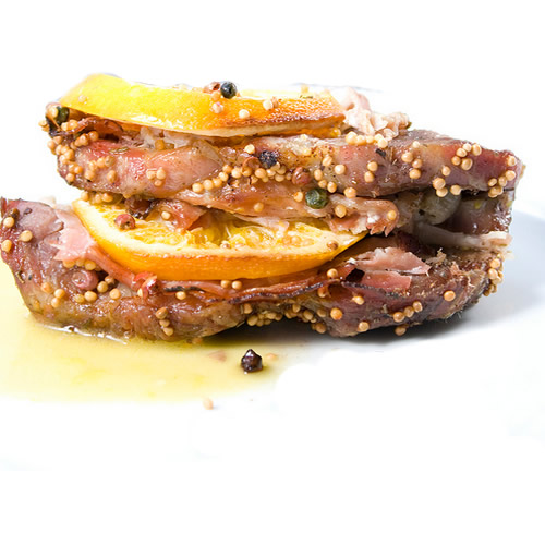 Ricette FreeFood - Arrosto di maiale agrumato