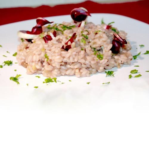 Ricette FreeFood - Risotto con radicchio