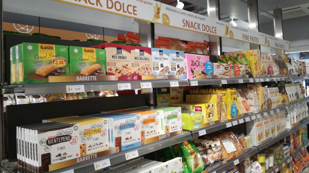 Alimenti senza glutine - snack dolce - Farmacie Torino