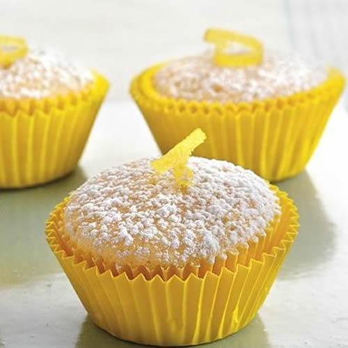 Tortini dolci di riso al limone