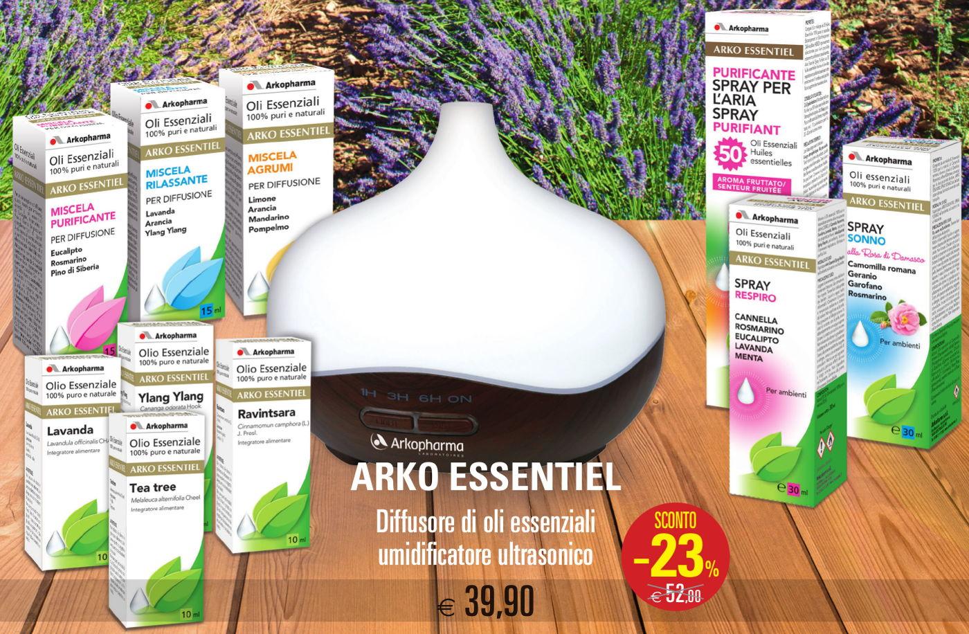 Arko-essentiel - Oli essenziali - Farmacie Comunali Torino