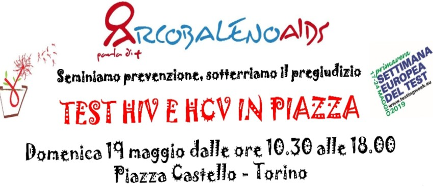 I test HIV e HCV scendono in piazza