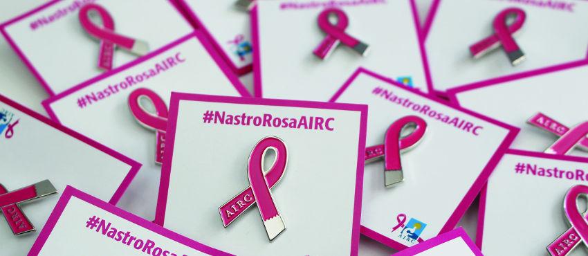 Con AIRC contro il tumore al seno - Nastro Rosa AIRC