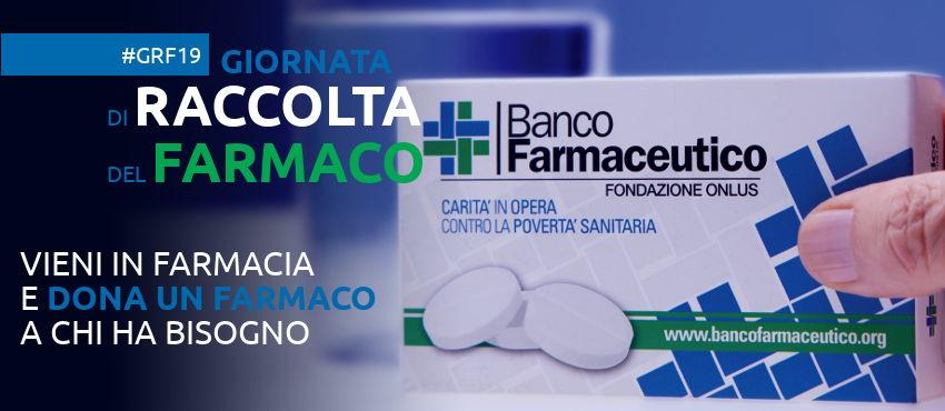 9 e 11 febbraio: doniamo un farmaco