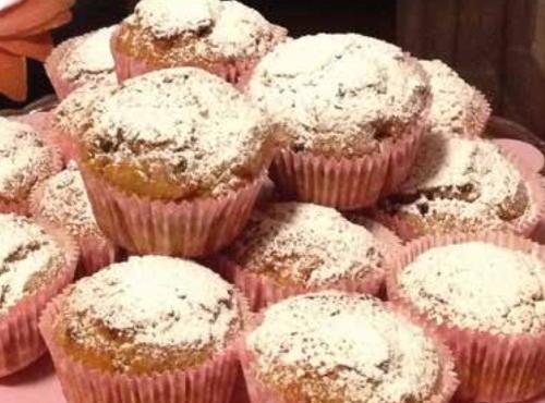 Muffin con farina di quinoa
