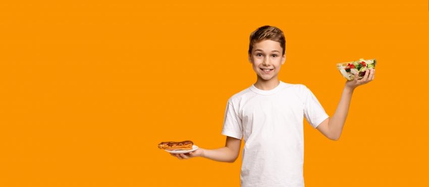 La corretta alimentazione durante l'adolescenza